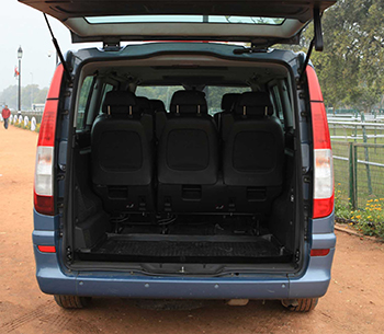 Mercedes Viano boot space