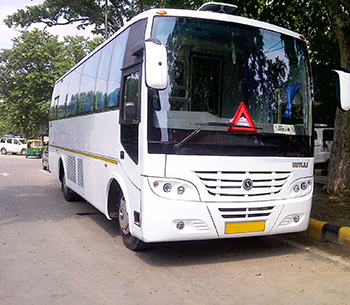 Tata Mini Coach front view